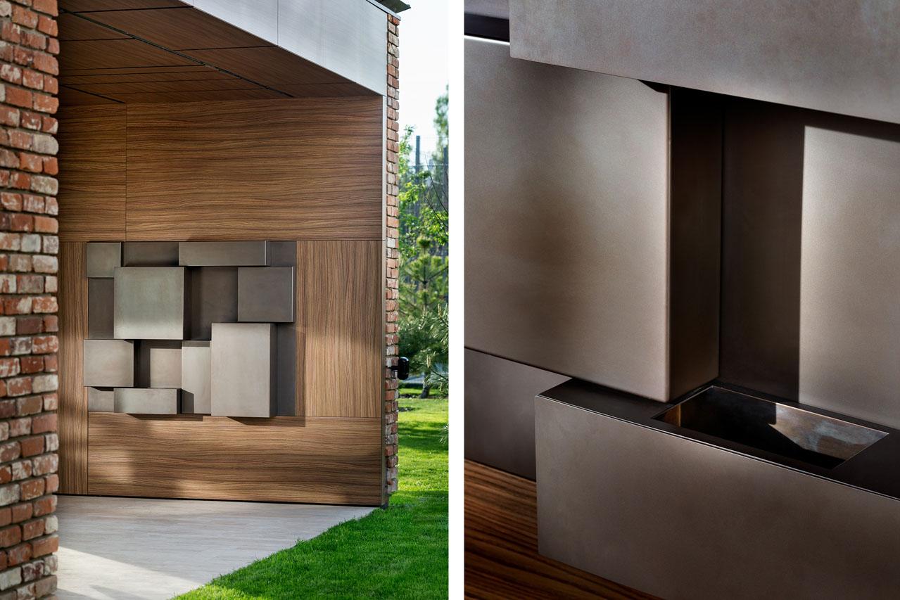 Stainless Steel Metal Cladding : Wall metal panels
